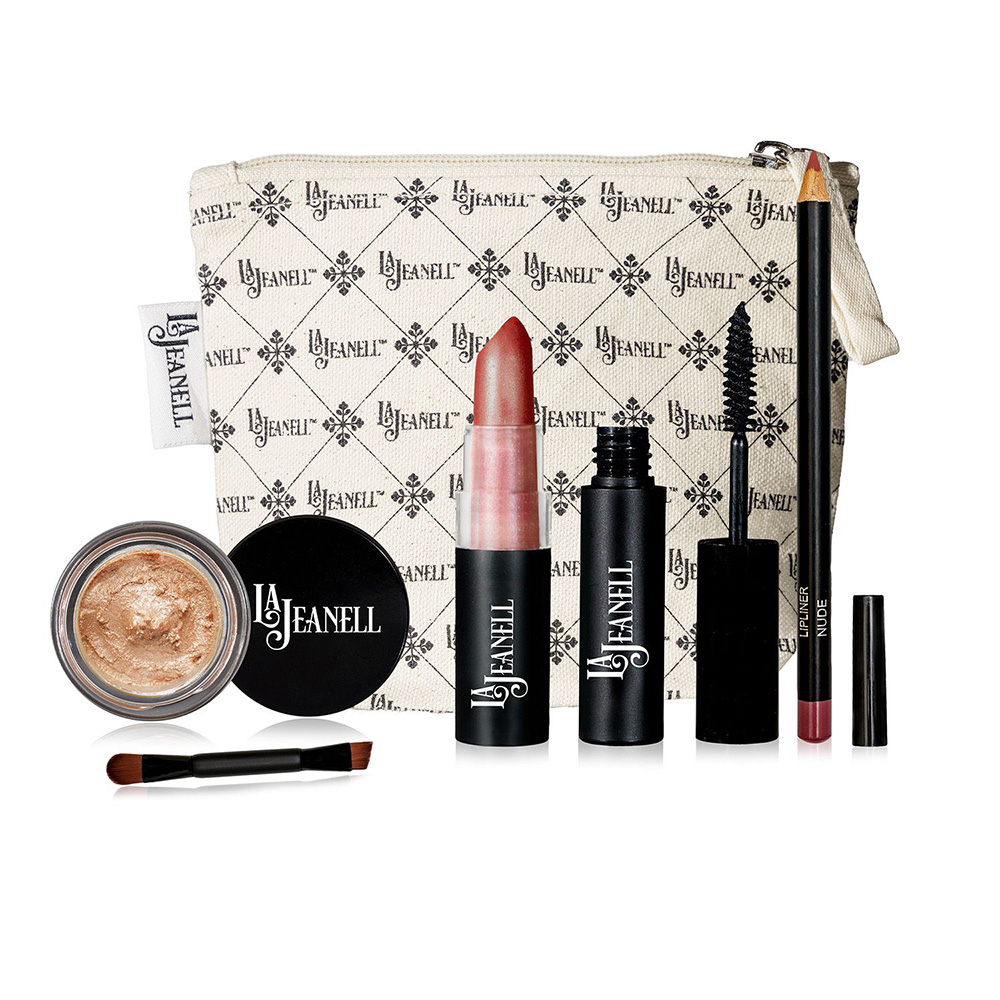 Natural Makeup Set with Bag